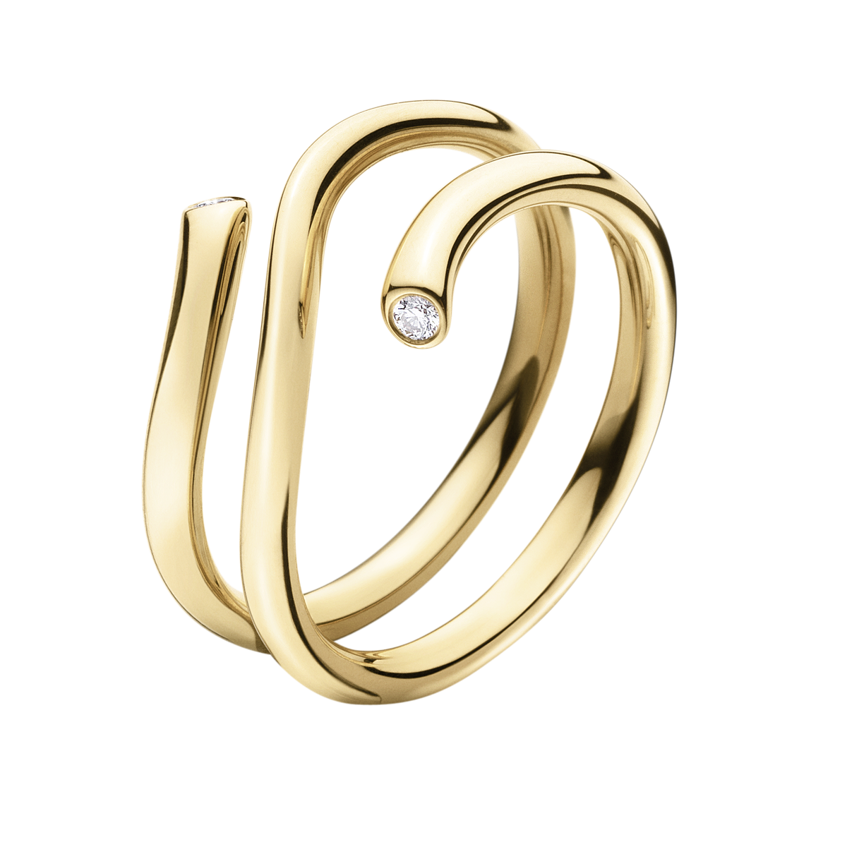 Image of   Georg Jensen Magic ring 18 kt.