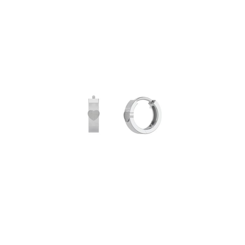 Smykkekæden Øreringe i Sterling Sølv