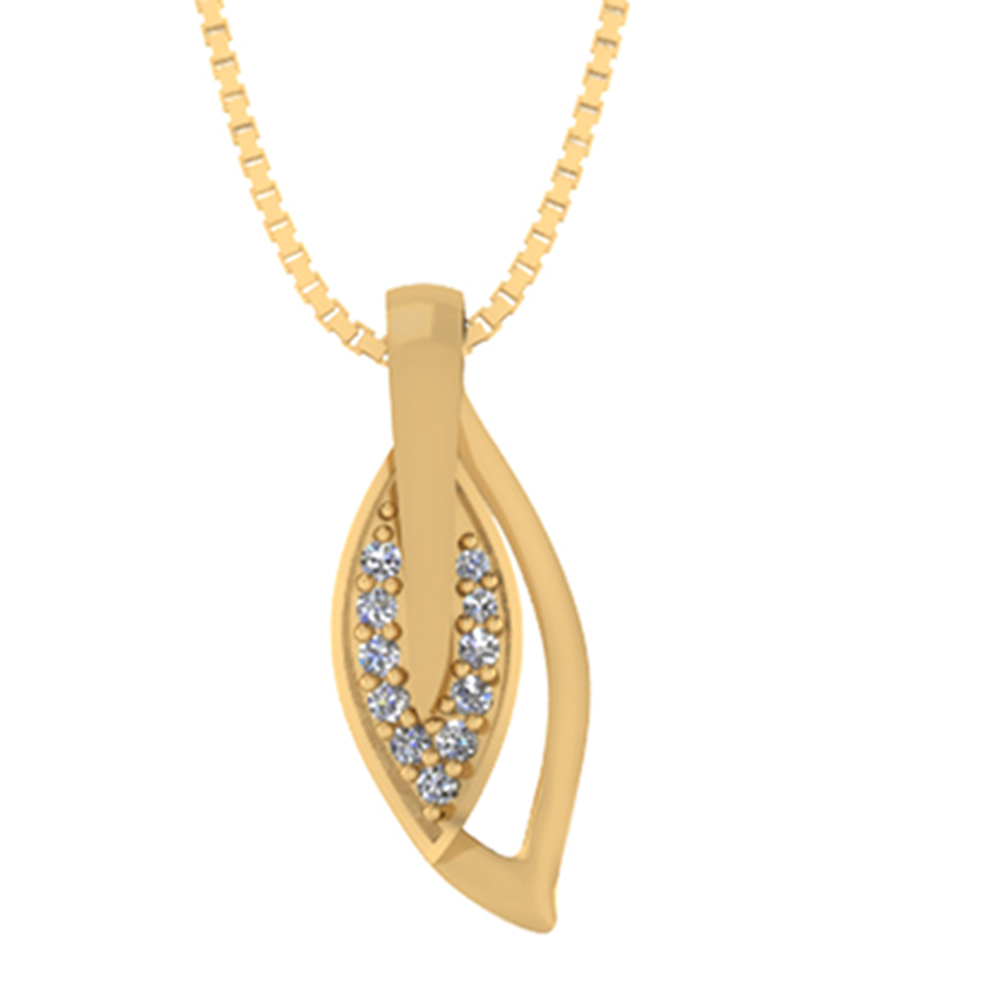 Smykkekæden 8 Karat Guld Vedhæng 40-00414-1030