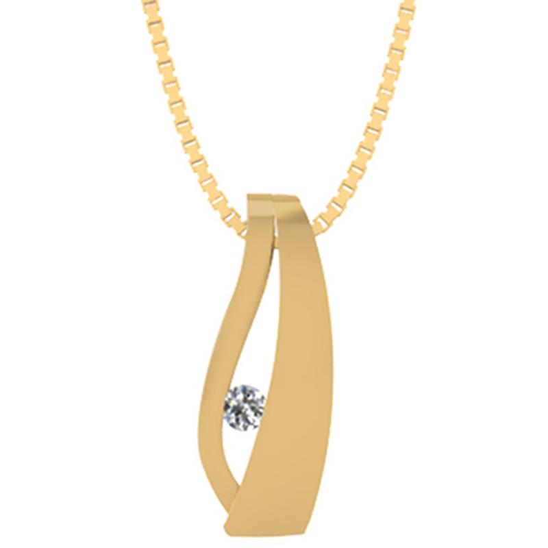 Smykkekæden Vedhæng i 8 Karat Guld 40-70444-1030