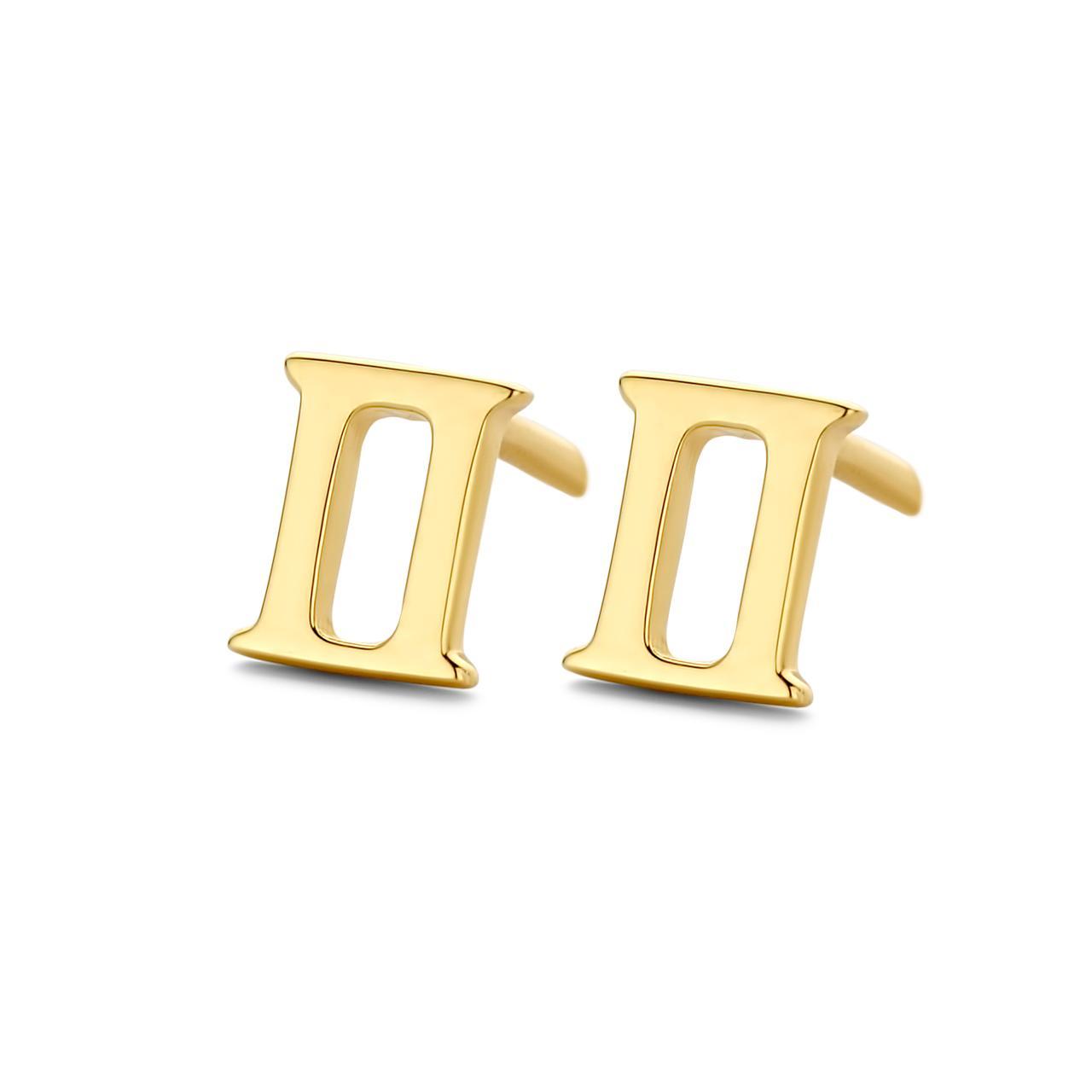 Spirit Icons Stjernetegn Tvillingen Ørestikker i Forgyldt Sølv