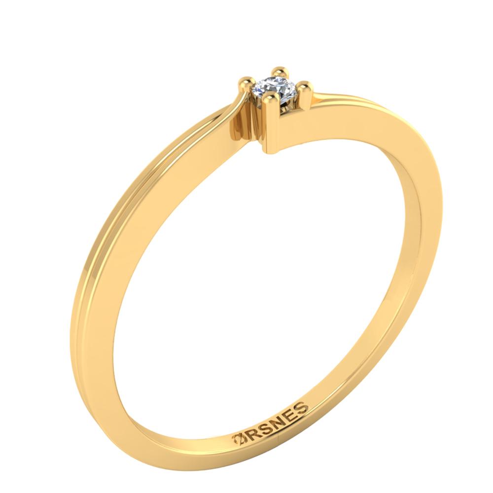 Image of   8 Karat Guld Ring 50-00173-1030