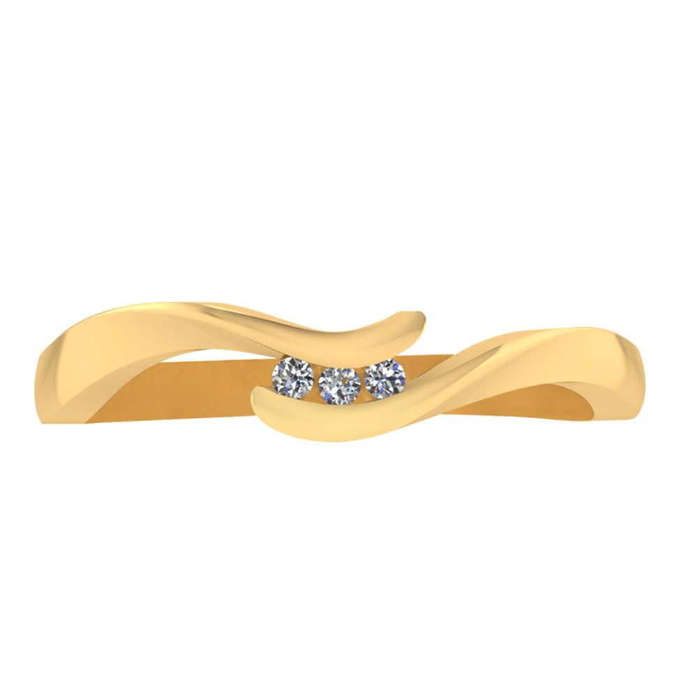 Image of   Smykkekæden Ring i 8 Karat Guld 50-00326-1030