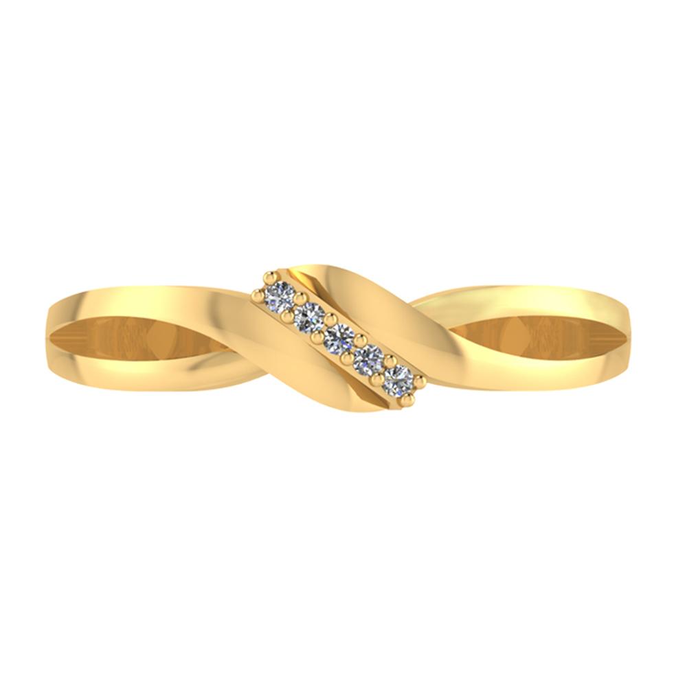 Smykkekæden Ring i 8 Karat Guld 50-00330-1030