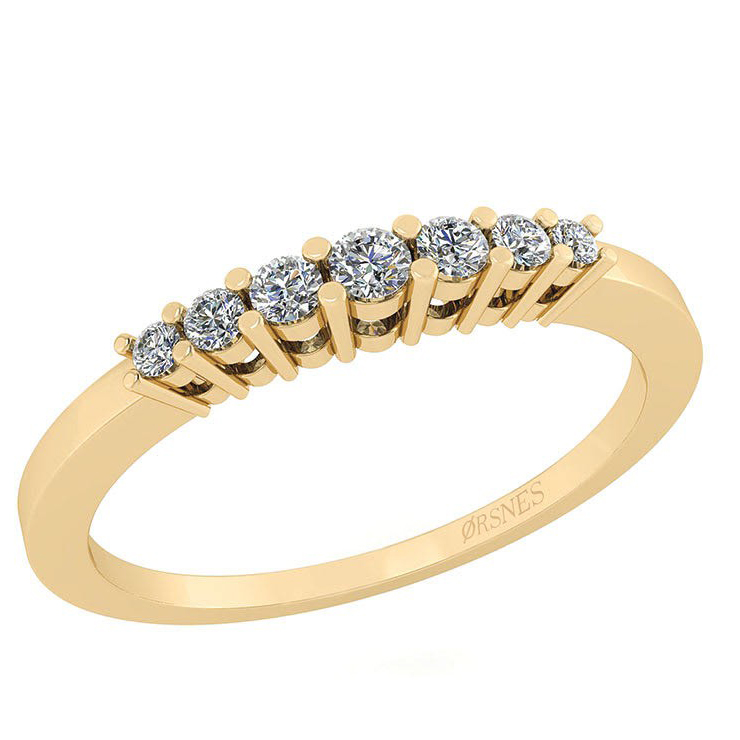 Image of   14 Karat Guld Ring fra Smykkekæden