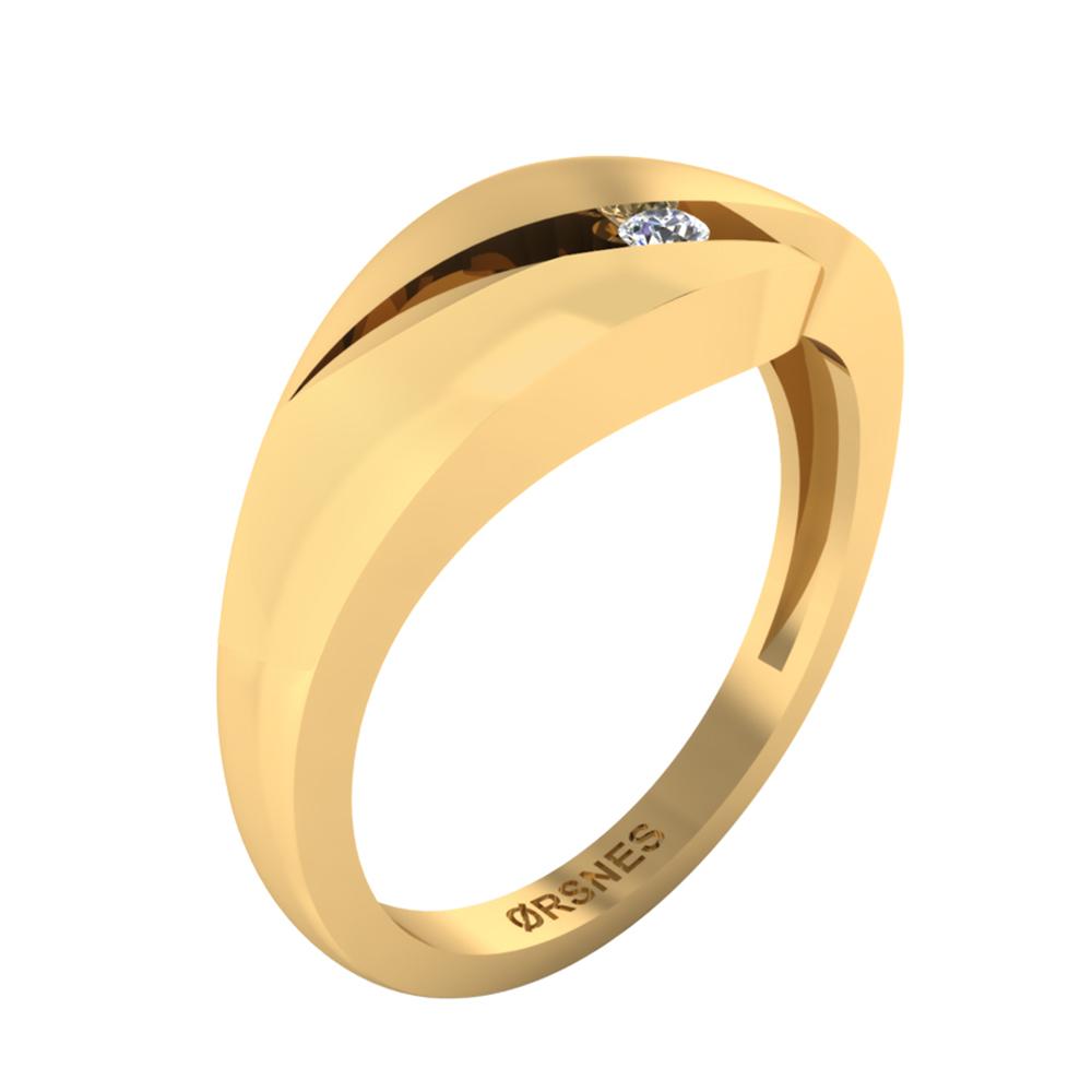Image of   8 Karat Guld Ring fra Smykkekæden 50-70514-1030