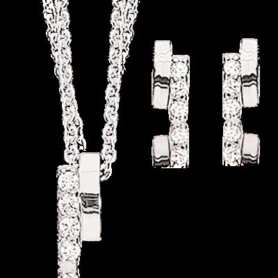 Image of   Sterling Sølv Smykkesæt fra Scrouples 577