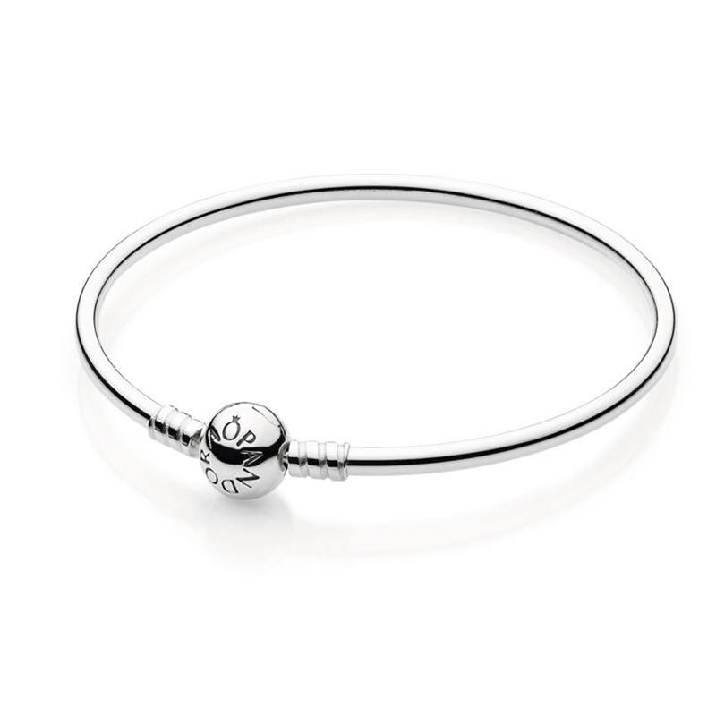 Moments Silver Bangle Sterling Sølv Armring fra Pandora thumbnail