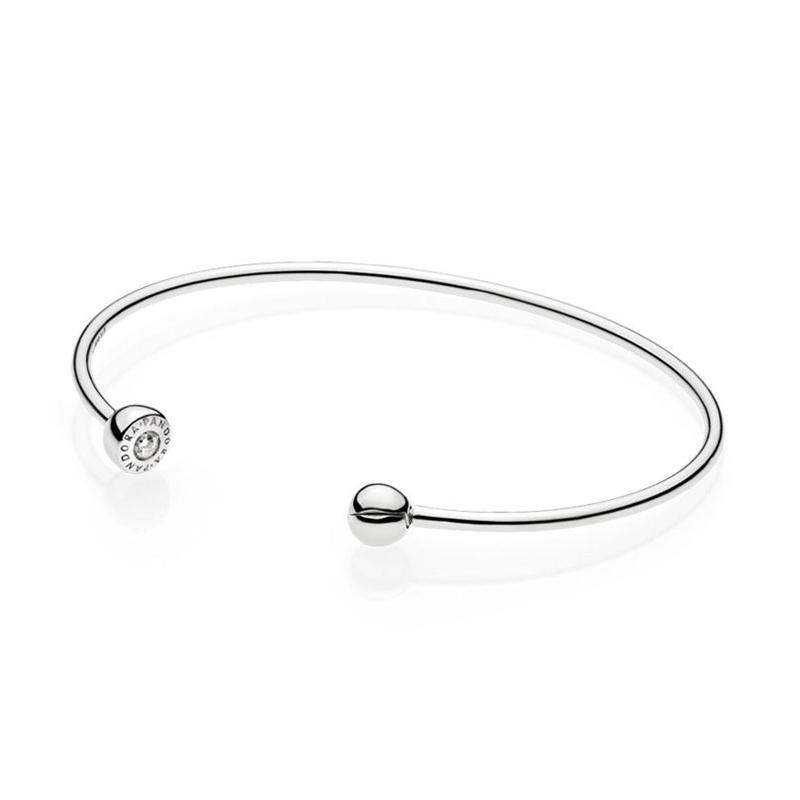 Pandora Essence Sterling Sølv Armring 597229CZ-2 thumbnail