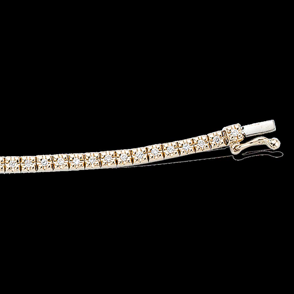 Tennis 14 Karat Guld Armbånd fra Scrouples med Brillanter 0,58 Carat W/SI