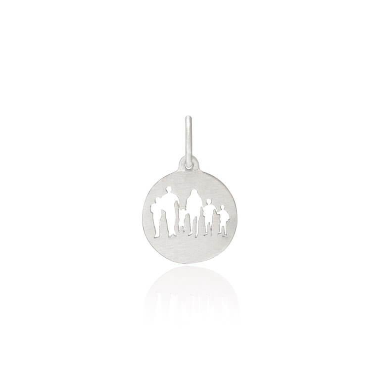 Frk Lisberg Family Collection 6 Sterling Sølv Vedhæng