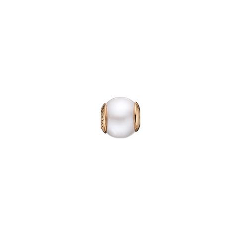 Christina Watches Pearl White Charm i Forgyldt Sølv med Ferskvandsperle thumbnail