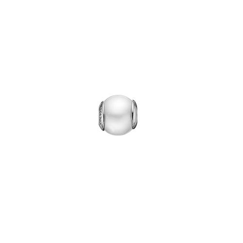 Christina Watches Pearl White Sterling Sølv Charm med Ferskvandsperle thumbnail