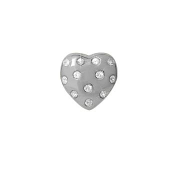 Heart Of Love Sterling Sølv Charm fra Christina Watches med Safirer thumbnail