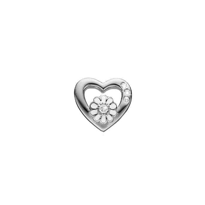 Marguerit Sterling Sølv Charm fra Christina Watches