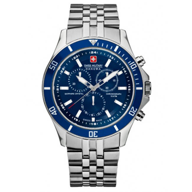 Image of   Swiss Military Hanowa Herreur Flagship Chrono 65183704003