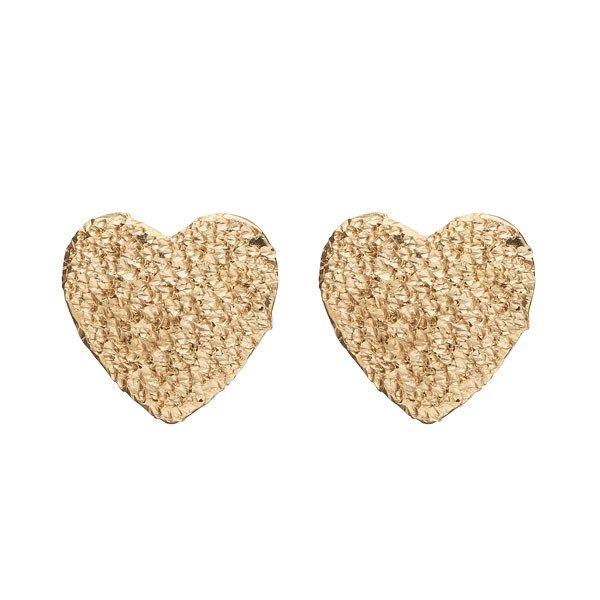 Sparkling Heart Forgyldt Sølv Ørestikker fra Christina Watches thumbnail