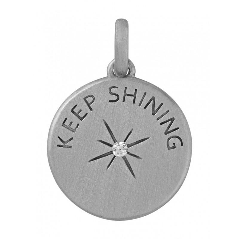Image of   byBiehl Keep Shining Vedhæng i Sterling Sølv 7-2204A-R