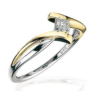 Scrouples Ring i 14 Karat Guld 706116