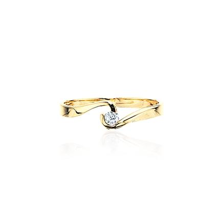 Scrouples 8 Karat Guld Ring 707323