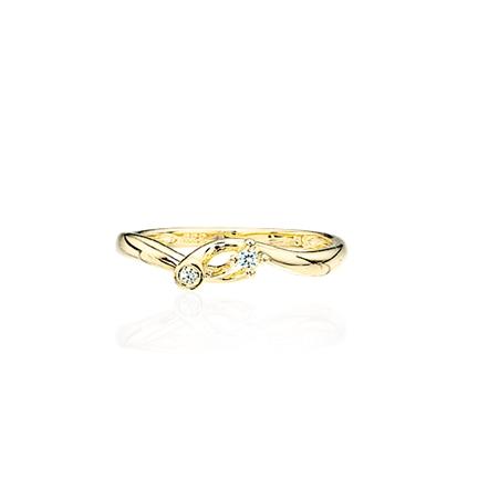Image of   8 Karat Guld Ring fra Scrouples 707333