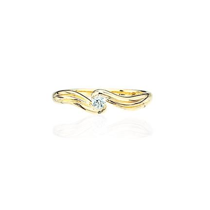 Image of   8 Karat Guld Ring fra Scrouples 707393