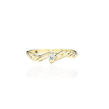 Image of   8 Karat Guld Ring fra Scrouples 707433