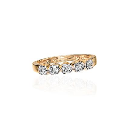 Image of   8 Karat Guld Ring fra Scrouples 707453