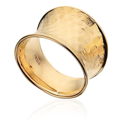 Image of   8 Karat Guld Ring fra Scrouples 707513