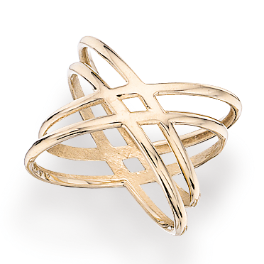 SCROUPLES RING I 8 KT.GULD 708863
