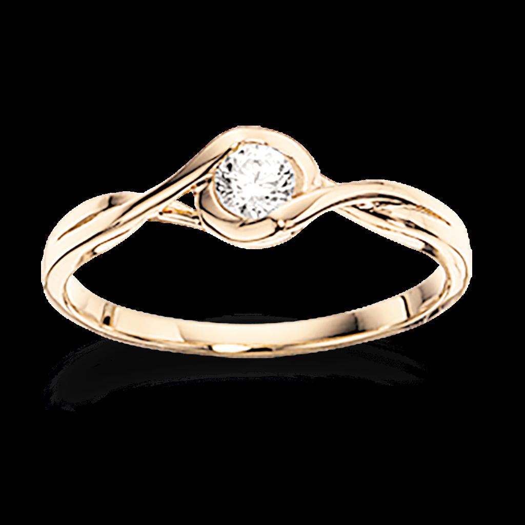 Image of   8 Karat Guld Ring fra Scrouples 709153