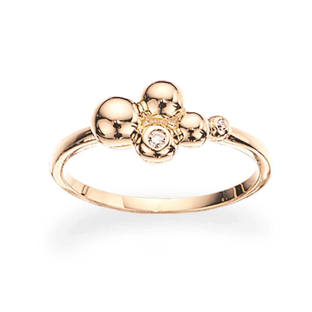 Image of   8 Karat Guld Ring fra Scrouples 709223