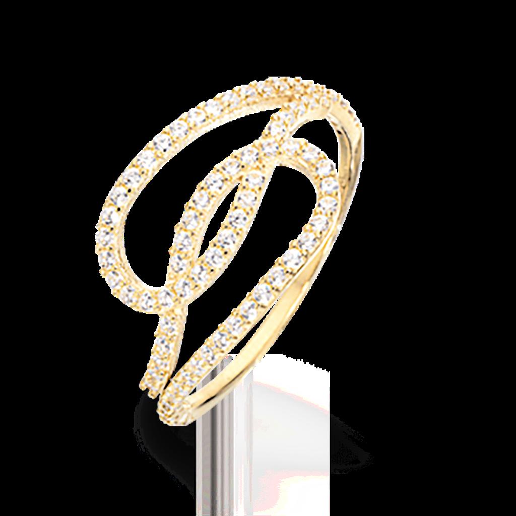 Image of   8 Karat Guld Ring fra Scrouples 709333