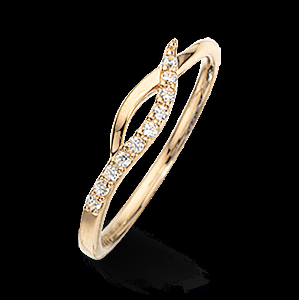 Scrouples Ring i 8 Karat Guld 709373
