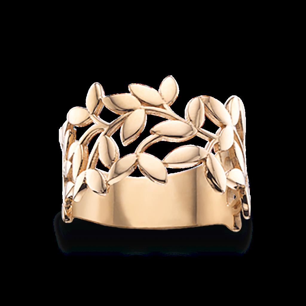 Image of   Blade 8 Karat Guld Ring fra Scrouples 710423