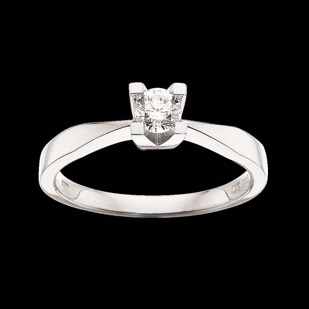 Kleopatra Ring 0,25 ct. i 14 Karat Hvidguld fra Scrouples thumbnail