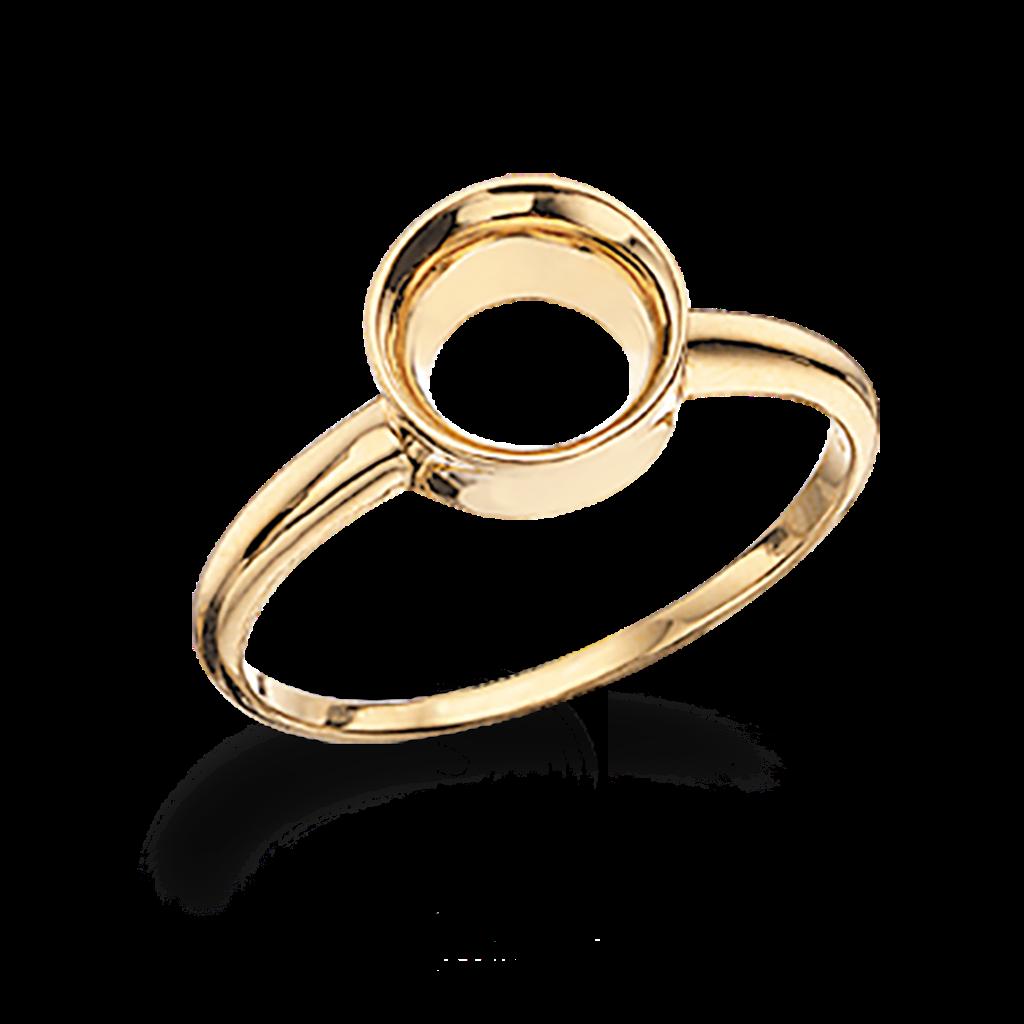 Forgyldt Sølv Ring fra Scrouples 720232FG