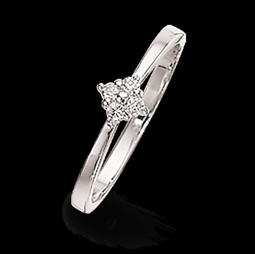 Rhodineret Sølv Ring fra Scrouples 720592