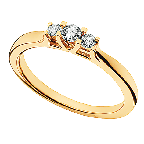 Zoya Ring 0,18 ct. i 14 Karat Guld fra Scrouples 7525,18 thumbnail