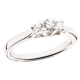 Zoya Ring 0,27 ct. i 14 Karat Hvidguld fra Scrouples