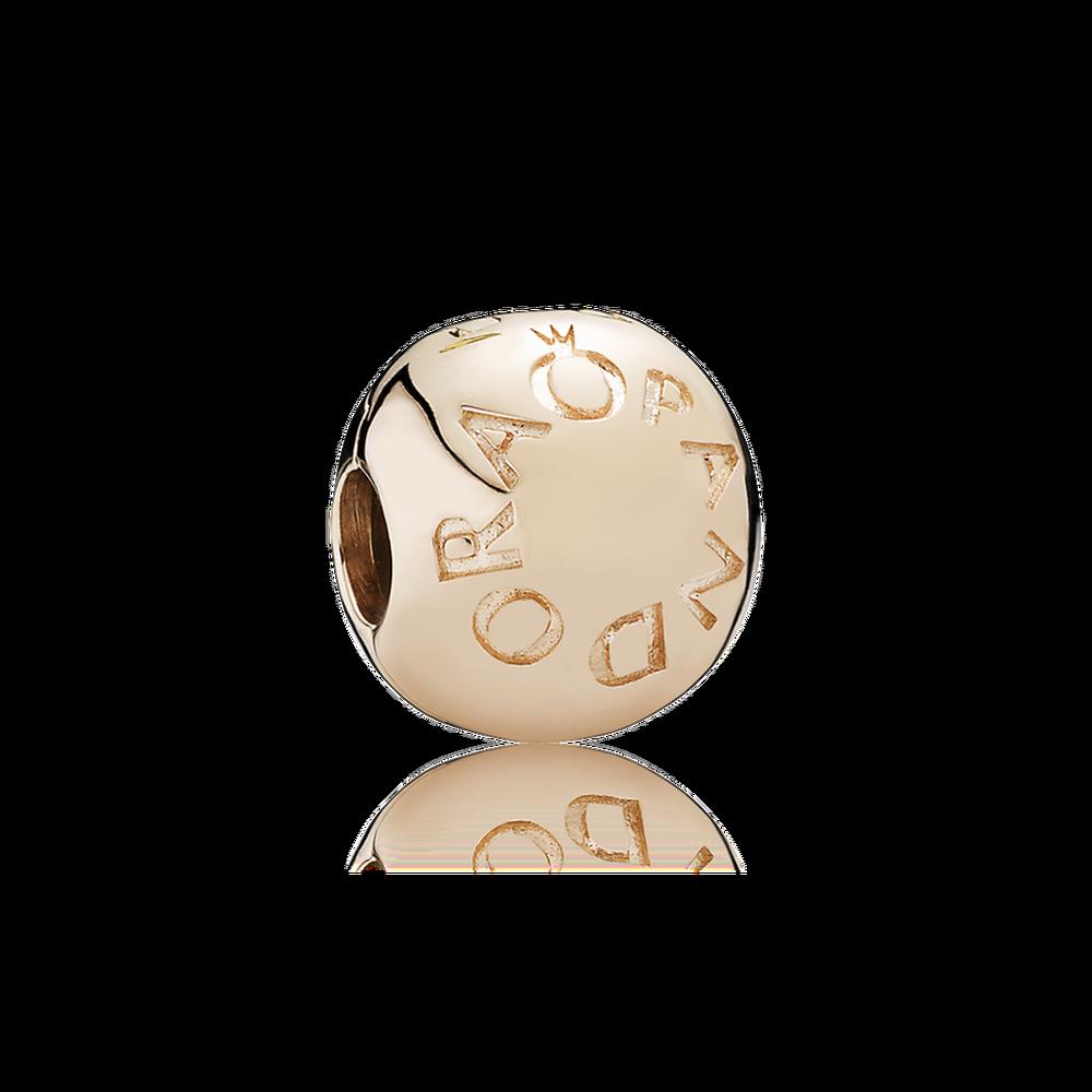 Pandora Klemmeled Rosaforgyldt Sølv Charm 781015 thumbnail