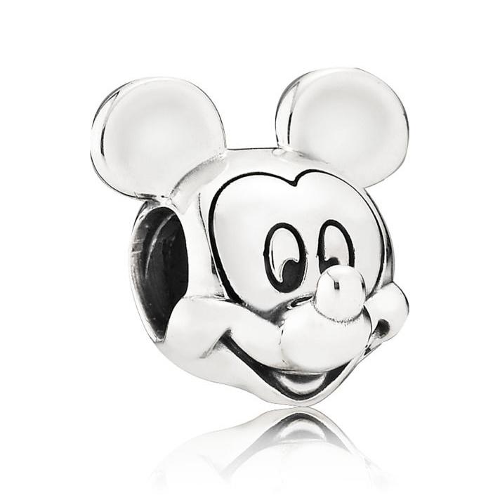 Disney Mickey Sølv Charm fra Pandora 791586