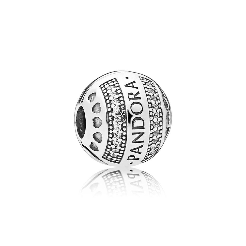 Pandora Hearts Sølv Charm 797415CZ thumbnail