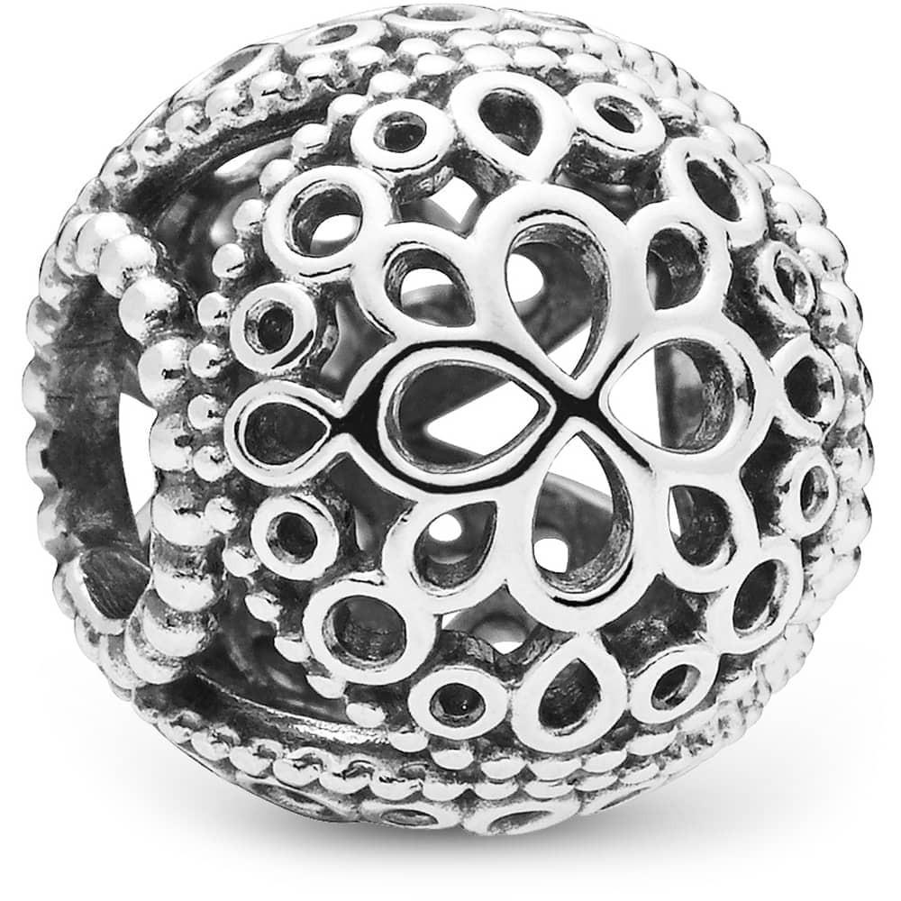 Pandora Blomst Charm i Sterling Sølv 797853 thumbnail
