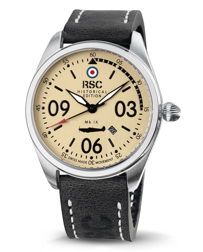 RSC Watches Spitfire Mk IX RSC802 Herreur