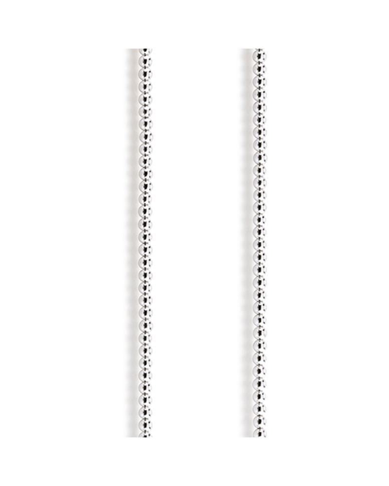 Image of   Aagaard Connection Sølv Halskæde med Hæmatit C10049,45