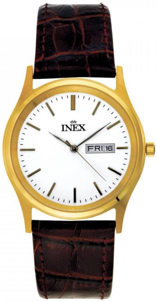 Mens Golden Ur til Herre Fra Inex A12124-1D0I