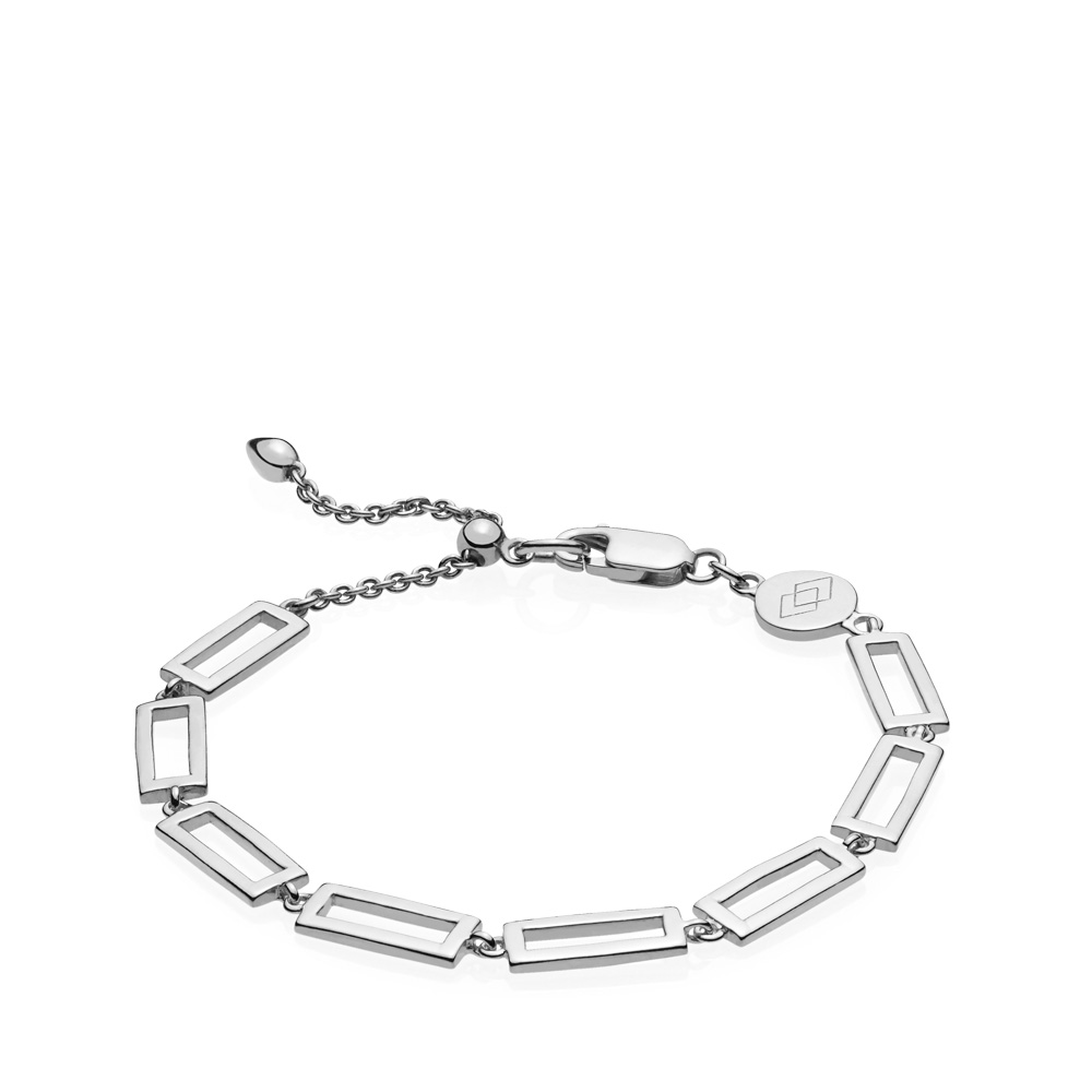 Times Square Sterling Sølv Armbånd fra Izabel Camille