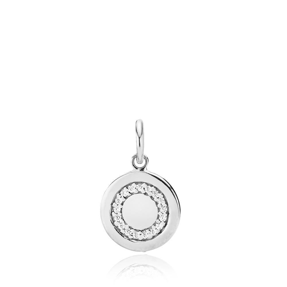 Circle Line Sterling Sølv Vedhæng fra Izabel Camille