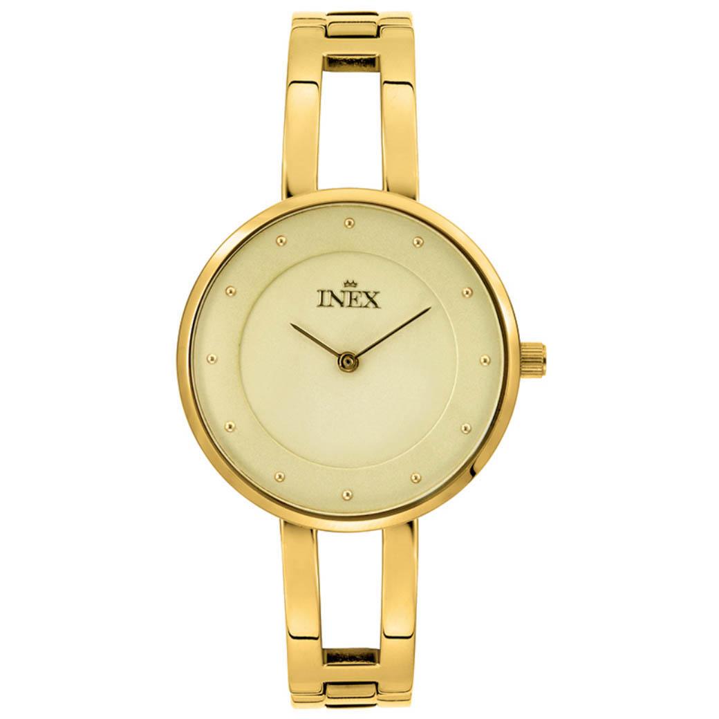 Inex Ladies Golden Ur til Dame A69499D7P